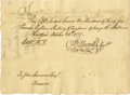 "Autographs:Statesmen, Consitution Drafter Oliver Ellsworth 1777 Document Signed ""OEllsworth"" as a member of the Connecticut Committee of the ...(Total: 1 Item)"