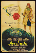 """Movie Posters:Mystery, Lured (United Artists, 1947). Argentinean Poster (29"""" X 43"""").Mystery. ..."""