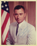 "Autographs:Celebrities, John Young Signed Color Photograph, 8"" x 10"", ""To Joe/ WithEvery Best Wish/ To the World's Greatest/ Cumshaw Artist/ John...(Total: 1 Item)"