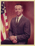 """Autographs:Celebrities, Alan Shepard Signed Color Photograph, 8"""" x 10"""", """"To Joe Garinowith/ utmost personal regards and/ appreciation for the ded...(Total: 1 Item)"""