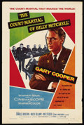 "Movie Posters:War, The Court-Martial of Billy Mitchell (Warner Brothers, 1956). OneSheet (27"" X 41""). War. ..."