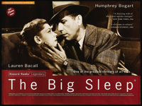 "The Big Sleep (Artificial Eye, R-1995). British Quad (30"" X 40""). Crime"
