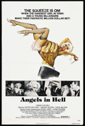 """Movie Posters:Drama, Angels in Hell (PRO International, 1977). One Sheet (27"""" X 41""""). Drama. ..."""