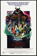 "Movie Posters:Animated, The Black Cauldron (Buena Vista, 1985). One Sheet (27"" X 41"")Advance. Animated. ..."