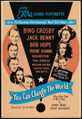 "Movie Posters:Short Subject, You Can Change the World (Christophers, 1951). One Sheet (28"" X41""). Short Subject. ..."