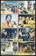 """Movie Posters:Fantasy, Sinbad and the Eye of the Tiger (Columbia, 1977). Lobby Card Set of 8 (11"""" X 14""""). Fantasy. ..."""
