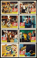 "Movie Posters:Adventure, The Brigand of Kandahar (Columbia, 1965). Lobby Card Set of 8 (11""X 14""). Adventure. ... (Total: 8 Items)"