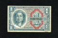Military Payment Certificates:Series 611, Series 611 $1 Replacement Very Fine. This is a mid-grade Replacement note from a series that was in use from 1964 to 1969, b...