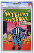 "Golden Age (1938-1955):Science Fiction, Mystery in Space #10 Davis Crippen (""D"" Copy) pedigree (DC, 1952)CGC FN+ 6.5 Cream to off-white pages...."