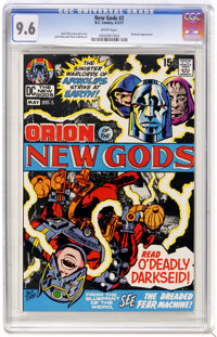 The New Gods #2 (DC, 1971) CGC NM+ 9.6 White pages