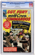 Silver Age (1956-1969):War, Sgt. Fury and His Howling Commandos #7 (Marvel, 1964) CGC VF/NM 9.0 Off-white to white pages....