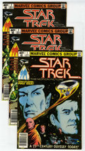 Modern Age (1980-Present):Science Fiction, Star Trek Group (Marvel, 1980) Condition: Average NM-.... (Total:9)