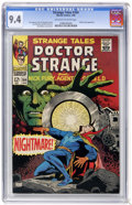 Silver Age (1956-1969):Horror, Strange Tales #164 (Marvel, 1968) CGC NM 9.4 Off-white to whitepages....