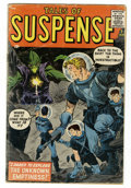 Silver Age (1956-1969):Science Fiction, Tales of Suspense #1 (Marvel, 1959) Condition: Apparent VG-....