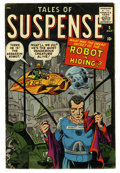 Silver Age (1956-1969):Science Fiction, Tales of Suspense #2 (Marvel, 1959) Condition: VG/FN....