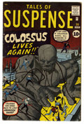 Silver Age (1956-1969):Science Fiction, Tales of Suspense #20 (Marvel, 1961) Condition: VG/FN....