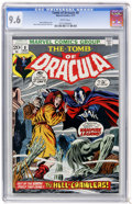 Bronze Age (1970-1979):Horror, Tomb of Dracula #8 (Marvel, 1973) CGC NM+ 9.6 White pages....