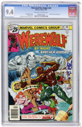 Bronze Age (1970-1979):Horror, Werewolf by Night #39 (Marvel, 1976) CGC NM 9.4 Off-white to whitepages....