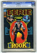 Bronze Age (1970-1979):Horror, Eerie #82 (Warren, 1977) CGC NM 9.4 Off-white to white pages.Origin and first appearance of the Rook. Luis Bermejo and Bill...