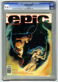 Magazines:Science-Fiction, Epic Illustrated #10 (Marvel, 1982) CGC NM+ 9.6 White pages. ...