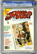 Magazines:Humor, Howard the Duck #1 (Marvel, 1979) CGC NM- 9.2 White pages. KidneyLady appearance. Gary Hallgren cover. Michael Golden, Gene...
