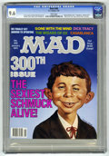 Magazines:Mad, Mad #300 (EC, 1991) CGC NM+ 9.6 White pages. Frank Jacobs and DickDeBartolo stories. Mort Drucker, Jack Davis, Dave Berg, A...