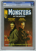 Bronze Age (1970-1979):Horror, Monsters of the Movies #8 (Marvel, 1975) CGC NM/MT 9.8 Off-white towhite pages. Doug Moench and Ron Glut text stories. Bob ...