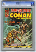 Magazines:Superhero, Savage Tales #5 (Marvel, 1974) CGC NM- 9.2 Off-white to whitepages. ...