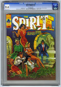 "Magazines:Superhero, The Spirit #8 (Warren, 1975) CGC NM 9.4 Off-white pages.""Headlight"" cover by Will Eisner, colored by Ken Kelly. Eisnerinte..."