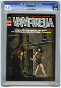 Magazines:Horror, Vampirella #6 (Warren, 1970) CGC NM- 9.2 Off-white pages....