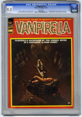 Magazines:Horror, Vampirella #8 (Warren, 1970) CGC NM- 9.2 White pages. First time Vampirella appears as a serious character. First appearance...