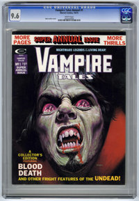 Vampire Tales Annual #1 (Marvel, 1975) CGC NM+ 9.6 White pages