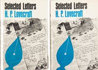 H. P. Lovecraft Selected Letters: Volume I First and Second Editions (Arkham House, 1965-75).... (Total: 2 Items)