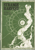 Books:Hardcover, Donald Wandrei Strange Harvest (Arkham House, 1965)....