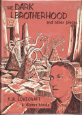 Books:Hardcover, H. P. Lovecraft and Divers Hands The Dark Brotherhood (Arkham House, 1966)....