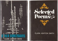 Books:Hardcover, Clark Ashton Smith Other Dimensions and SelectedPoems (Arkham House, 1970-71).... (Total: 2 Items)
