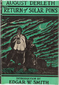 Books:Hardcover, August Derleth The Return of Solar Pons (Arkham House,1958)....