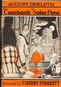 Books:Hardcover, August Derleth The Casebook of Solar Pons (Arkham House,1965)....