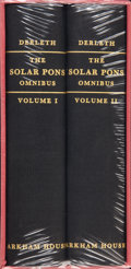 Books:Hardcover, August Derleth The Solar Pons Omnibus Sealed SlipcaseEdition (Arkham House, 1982)....