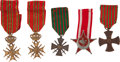 Military & Patriotic:WWI, Group of Five World War One Decorations.... (Total: 5 Items)