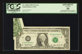 Error Notes:Attached Tabs, Fr. 1918-D $1 1993 Federal Reserve Note. PCGS Apparent Very Fine35.. ...