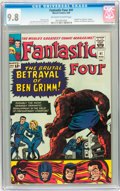 Silver Age (1956-1969):Superhero, Fantastic Four #41 (Marvel, 1965) CGC NM/MT 9.8 Off-white to whitepages....