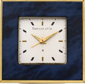 Timepieces:Clocks, Tiffany & Co. Eight Day Travel Alarm. ...