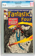 Silver Age (1956-1969):Superhero, Fantastic Four #47 (Marvel, 1966) CGC NM+ 9.6 Off-white to whitepages....