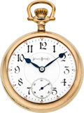 Timepieces:Pocket (post 1900), Illinois 24 Jewel 18 Size Bunn Special, circa 1902. ...