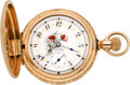 Timepieces:Pocket (pre 1900) , Waltham Fancy O'Hara Dial Pocket Watch, circa 1892. ...