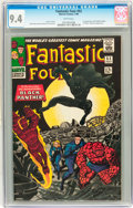 Silver Age (1956-1969):Superhero, Fantastic Four #52 (Marvel, 1966) CGC NM 9.4 White pages....