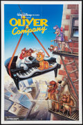 "Movie Posters:Animated, Oliver & Company Lot (Buena Vista, 1988). One Sheet (2) (27"" X41"") and (1) (27"" X 40""). Animated.. ... (Total: 3 Items)"
