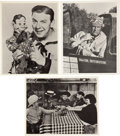 Memorabilia:Movie-Related, Movie/Television-related Photo Group (undated).... (Total: 3 Items)