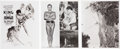 Memorabilia:Movie-Related, Buster Crabbe King of the Jungle Publicity Photos(Paramount).... (Total: 3 Items)